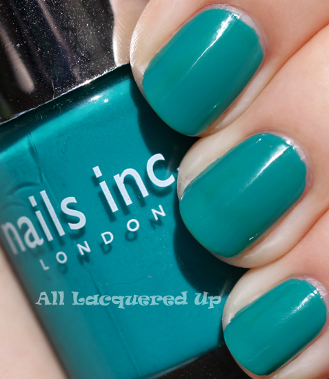 nails inc warwick way nail polish swatch