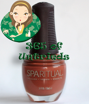 sparitual inner sanctum nail polish ALUs 365 of Untrieds   Sparitual Inner Sanctum