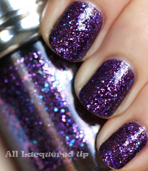 tony moly gt05 jupiter glitter nail polish swatch galaxy Holy Moly, TonyMoly! Out of This World Galaxy Glitters