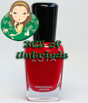 zoya sooki nail polish summertime summer 2011 ALUs 365 of Untrieds   A Home Run Manicure with Zoya Sooki