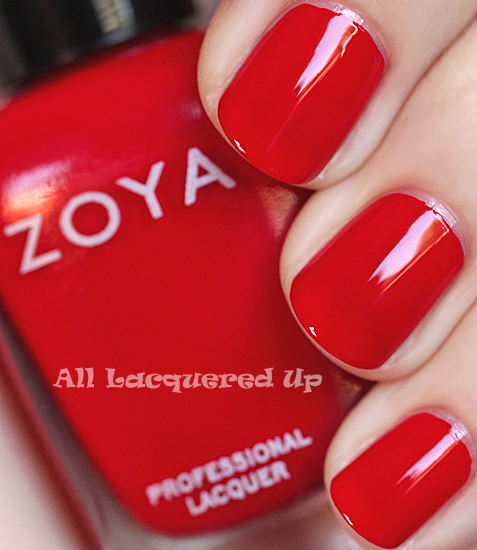 zoya sooki nail polish swatch summertime 2011 ALUs 365 of Untrieds   A Home Run Manicure with Zoya Sooki