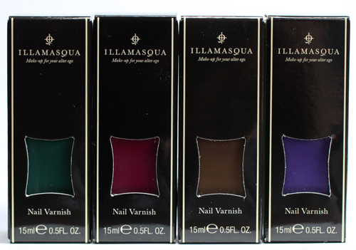 Illamasqua theatre of the nameless nail varnish polish fall 20111 Illamasqua The Theatre of the Nameless Nail Varnishes   Faux Pas, Kink, Taint and Vice 