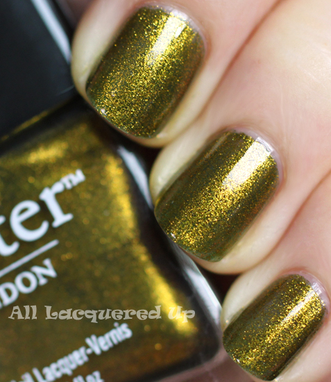 butter london wallis nail polish swatch fall 2011 military green trend