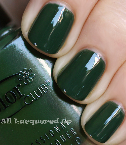 color club artsy craftsy nail polish swatch fall 2011 military green trend