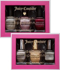 deborah lippmann juicy couture holiday 2011 gift sets