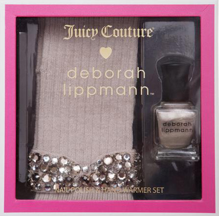 deborah lippmann juicy couture jewel in the crown nail polish holiday 2011