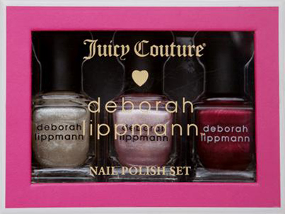 deborah lippmann juicy couture shimmer shine holiday 2011