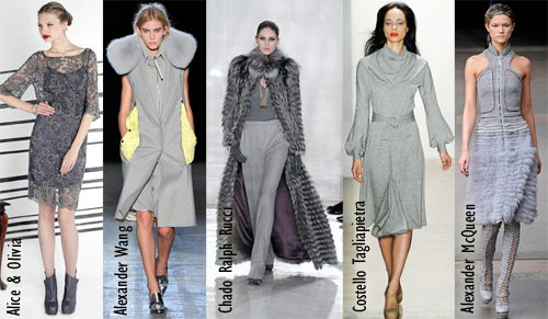 fall 2011 nail color polish trend grey gray charcoal Fall 2011 Nail Polish Trend   Real F*cking Grey Is Back!