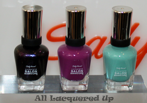 sally hansen prabal gurung spring 2012 loves me not puple posy barely bluebell Slim Silhouette Nail by Jin Soon for Sally Hansen at Prabal Gurung Spring 2012