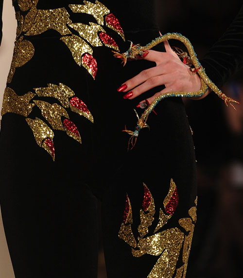 The Blonds Fall 2011 CND nails