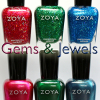 Zoya Gems & Jewels Holiday 2011 Nail Polish Collection Swatches & Review