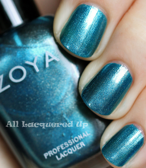 zoya noel nail polish swatch from the zoya gems jewels holiday 2011 collection