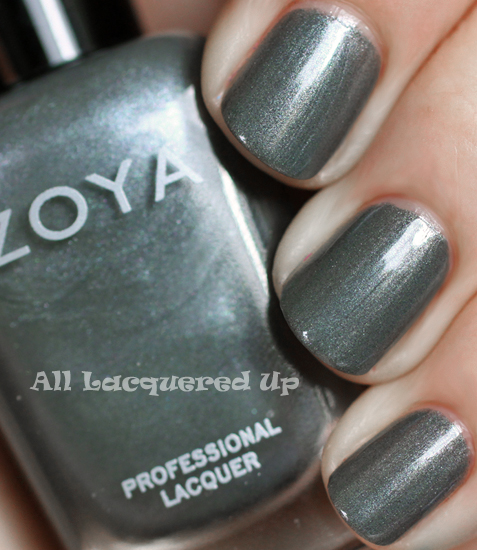 zoya tao nail polish swatch fall 2011 gray nail trend Fall 2011 Nail Polish Trend   Real F*cking Grey Is Back!