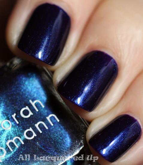 deborah lippmann dancing in the sheets nail polish swatch footloose Deborah Lippmann Cuts Loose, Footloose. The Footloose Nail Polish Collection for HSN