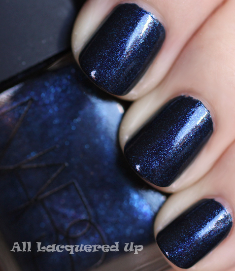 Fall 2011 Nail Polish Trend - Bold Beautiful Blues : All Lacquered Up