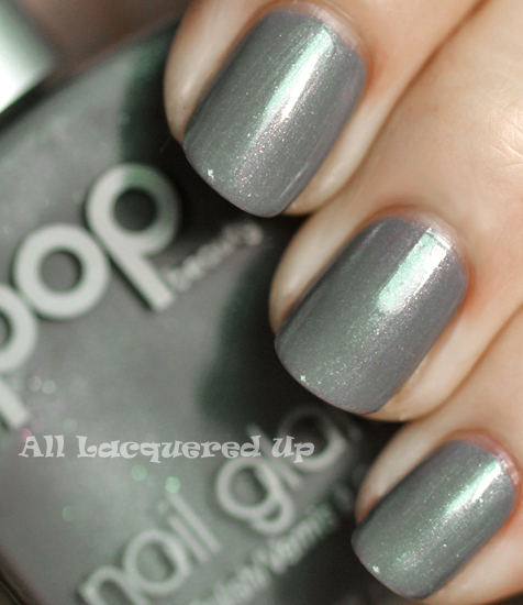 pop beauty foggy nail polish swatch fall 2011 gray nail trend Fall 2011 Nail Polish Trend   Real F*cking Grey Is Back!