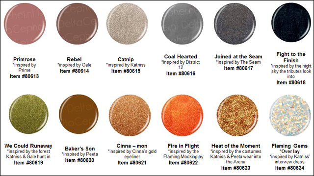china glaze hunger games nail polish collection Calling All Tributes   China Glaze Hunger Games Collection Preview