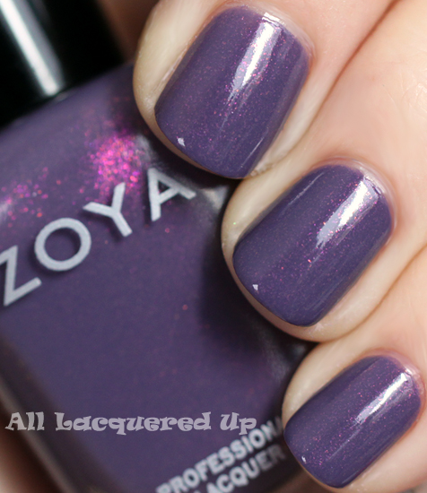 zoya lotus nail polish swatch true spring 2012 Zoya True Spring 2012 Nail Polish Collection Swatches & Review