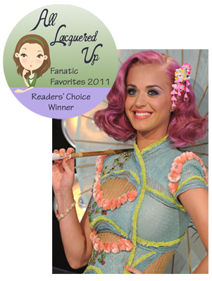 alu fanatic favorite 2011 nail trendsetter katy perry All Lacquered Up Fanatic Favorites 2011   The Winners