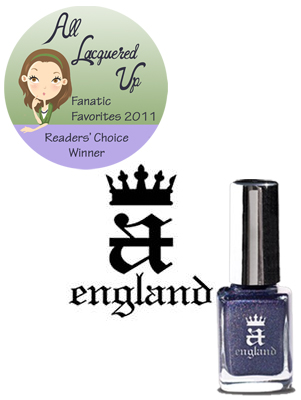 alu fanatic favorite cult indie nail polish brand a england All Lacquered Up Fanatic Favorites 2011   The Winners