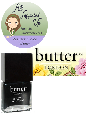 alu fanatic favorite luxury department store brand butter london All Lacquered Up Fanatic Favorites 2011   The Winners