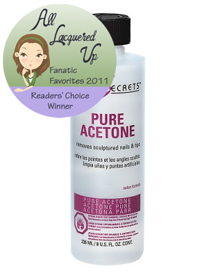 alu fanatic favorite nail polish remover pure acetone All Lacquered Up Fanatic Favorites 2011   The Winners