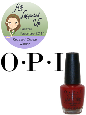 alu fanatic favorite salon brand opi All Lacquered Up Fanatic Favorites 2011   The Winners