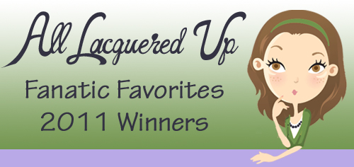 alu fanfave winners banner All Lacquered Up Fanatic Favorites 2011   The Winners