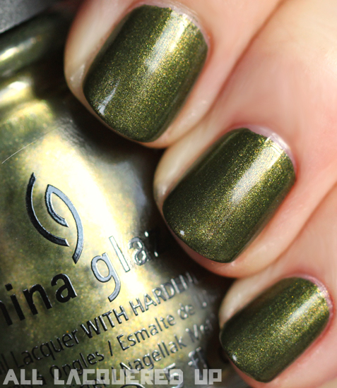 china glaze agro nail polish swatch capitol colours hunger games China Glaze Capitol Colours   The Hunger Games Nail Polish Collection Swatches & Review