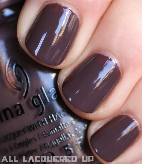 China Glaze Foie Gras Nail Polish Swatch Capitol
