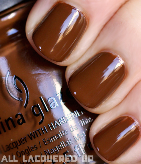 china glaze mahogany magic nail polish swatch capitol colours hunger games China Glaze Capitol Colours   The Hunger Games Nail Polish Collection Swatches & Review
