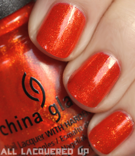 china glaze riveting nail polish swatch capitol colours hunger games China Glaze Capitol Colours   The Hunger Games Nail Polish Collection Swatches & Review