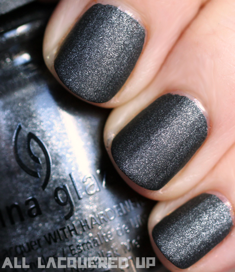 China Glaze Stone Cold Nail Polish Swatch Capitol