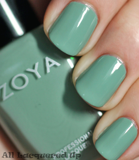 zoya bevin nail polish swatch true spring 2012 Zoya True Spring 2012 Nail Polish Collection Swatches & Review