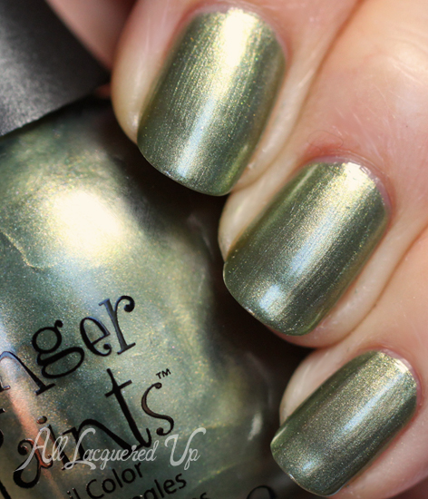 finger paints be leaf it or not nail polish swatch fall 2012 Finger Paints Fall of Surprises Fall 2012 Nail Polish Collection Swatches and Review