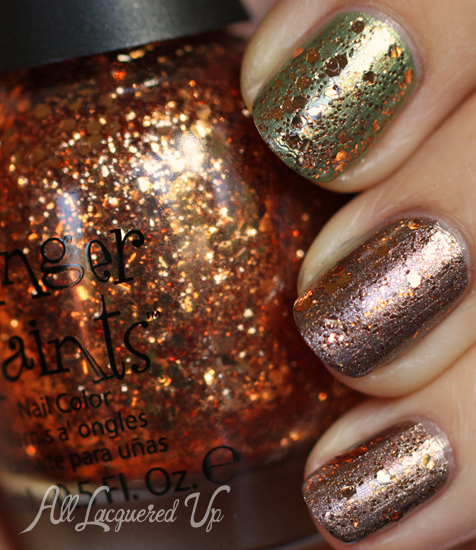 finger paints fall of surprises nail polish swatch fall 2012