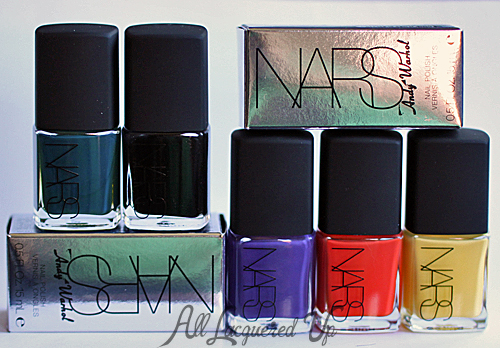 nars andy warhol holiday 2012 nail polish color collection copy NARS Andy Warhol Color Collection Holiday 2012 Nail Polish Collection Swatches & Review