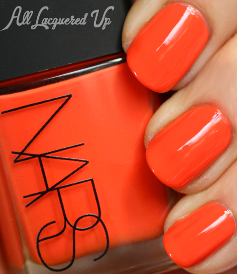 nars tv party nail polish swatch andy warhol holiday 2012 NARS Andy Warhol Color Collection Holiday 2012 Nail Polish Collection Swatches & Review