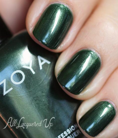 zoya ray nail polish swatch fall 2012 diva