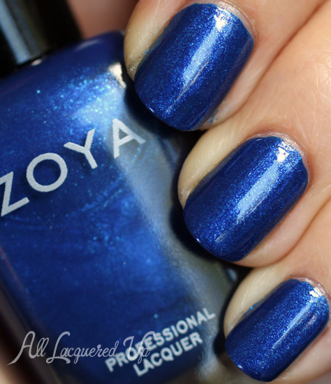 zoya Song nail polish swatch fall 2012 diva