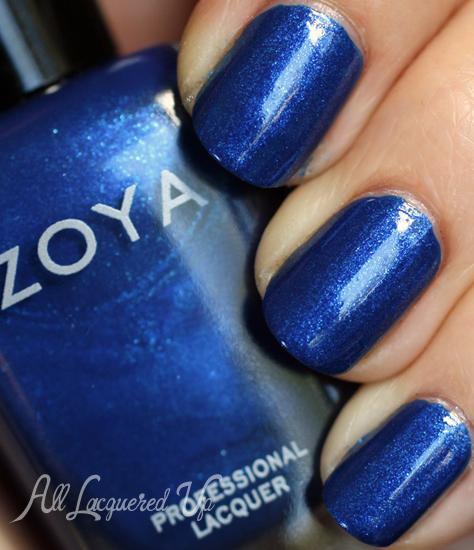 zoya Song nail polish swatch fall 2012 diva