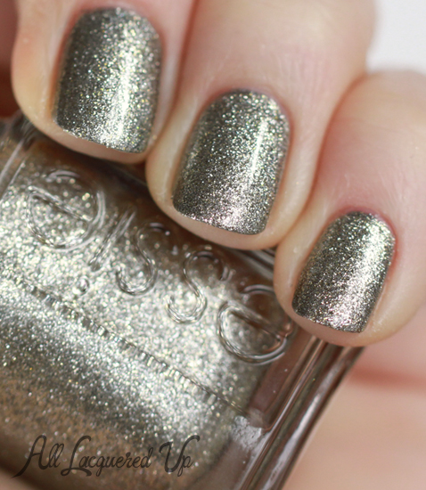 essie beyond cozy sally hansen shoot the moon nail polish swatch layering Mani Monday   Wedding Glitz with Essie and Sally Hansen