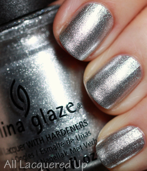 china glaze icicle nail polish swatch Mani Monday   Art Deco Nail Art with China Glaze for Jump Back Ball 22