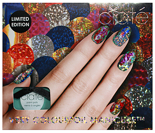 ciate colourfoil manicure foil manicure nails nail art Get Your Shine On with A Very Colourfoil Manicure from Ciaté