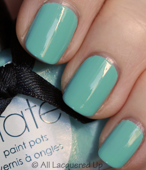 ciate pepperminty nail polish paint pot swatch Get Your Shine On with A Very Colourfoil Manicure from Ciaté
