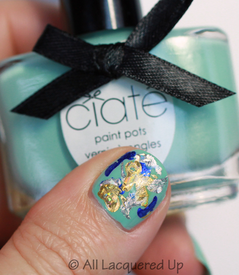 ciate very colourfoil manicure foil nail art foils thumb Get Your Shine On with A Very Colourfoil Manicure from Ciaté