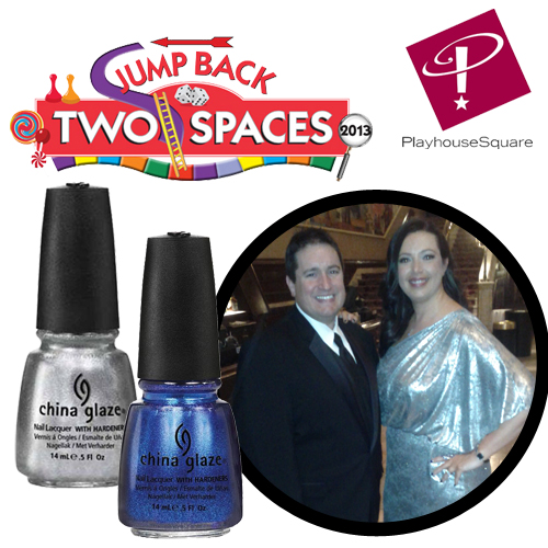 jump back ball 22 jump back two spaces playhouse square Mani Monday   Art Deco Nail Art with China Glaze for Jump Back Ball 22