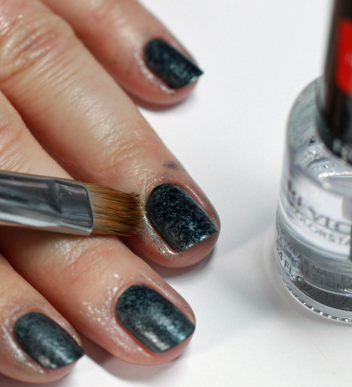 how to clean up nail polish