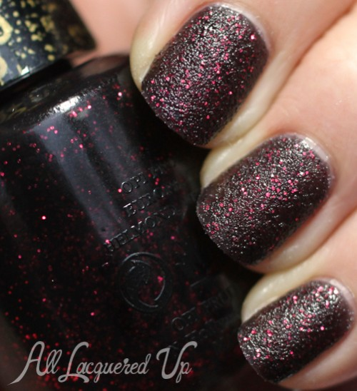 opi stay the night sand nail polish swatch mariah carey spring 2013 500x548 Mariah Carey for OPI Spring 2013 Nail Polish Collection Swatches & Review