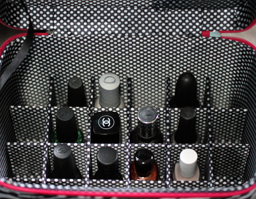 caboodles nail valet nail polish storage Storage Solution   Caboodles Gilded Pleasure Nail Valet